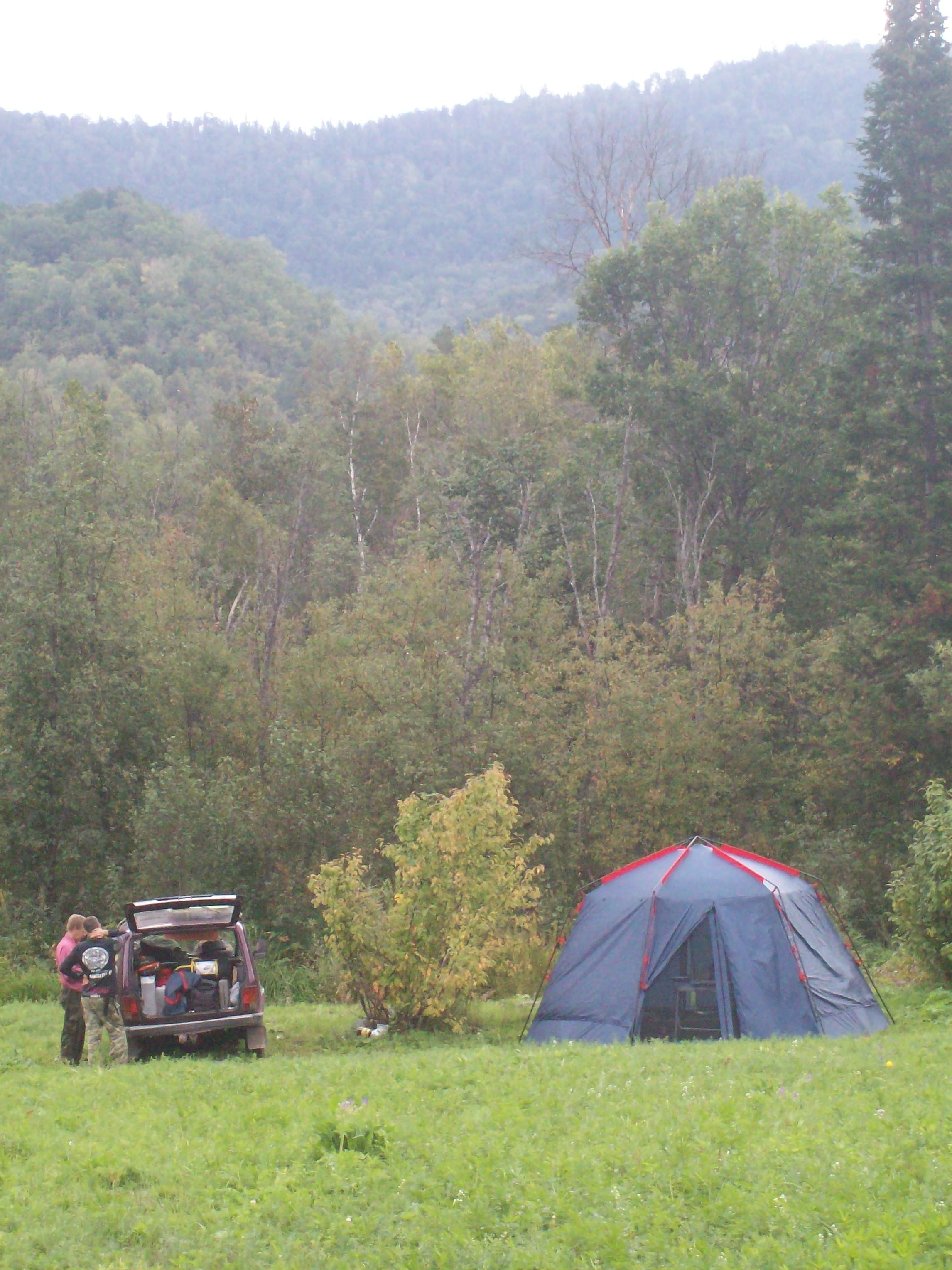 Лагерь № 1 на